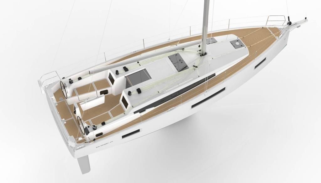 Noleggio barche a vela in Toscana Sun Odyssey 410