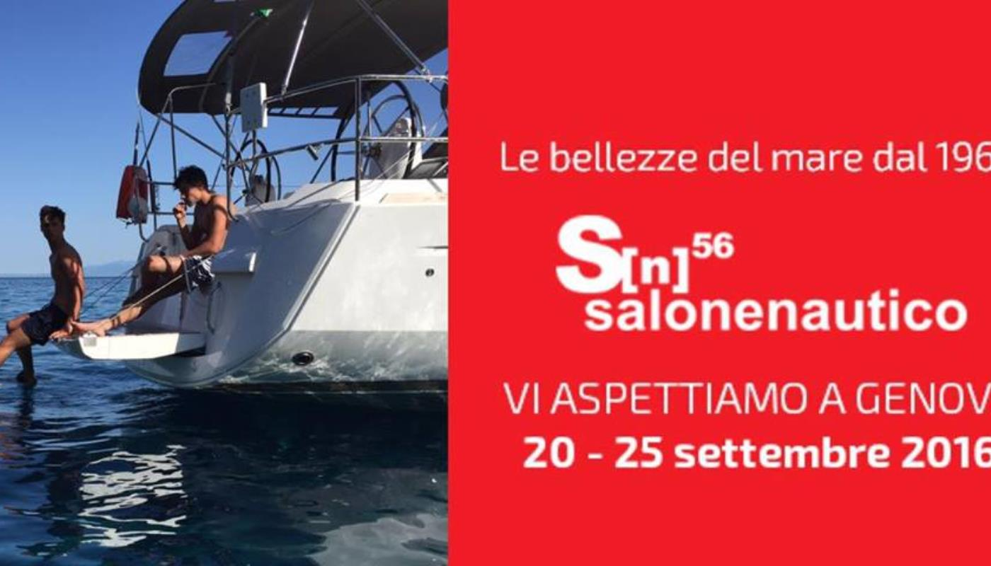 Meet us to the Salone di Genova 20-25 Sept. 2016
